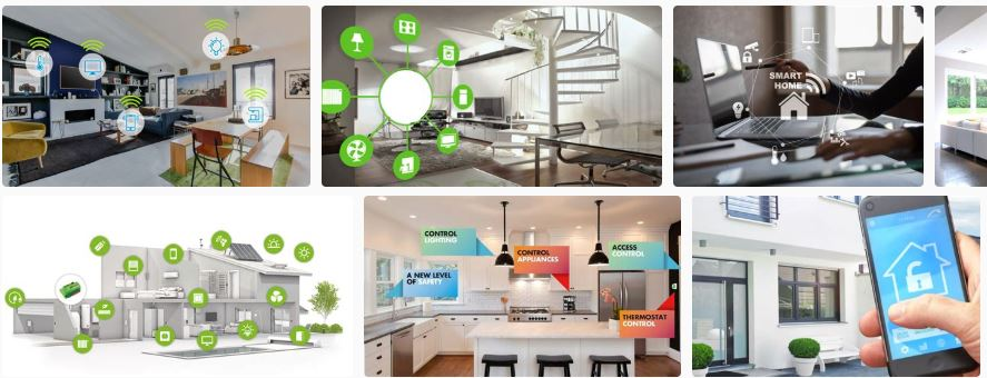 aparatos y dispositivos smart home
