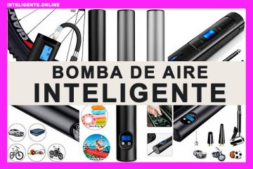 Bomba de aire Inteligente Inalámbrica Portátil