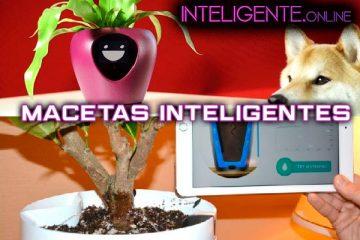 Macetas Inteligentes: Lua y Parrot Pot